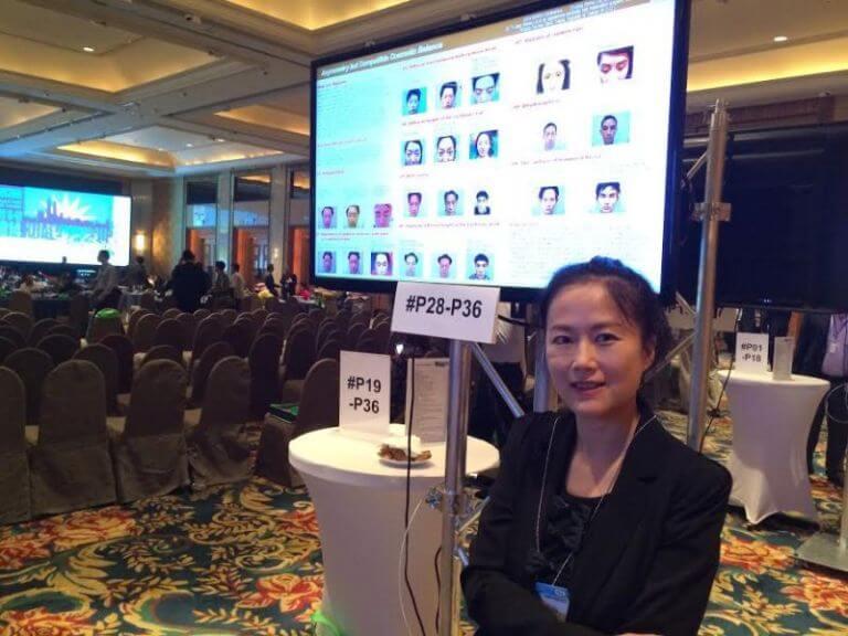 林宜蓉醫師參加22屆國際植髮醫學會